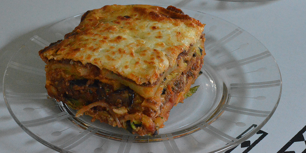 Bison Moussaka