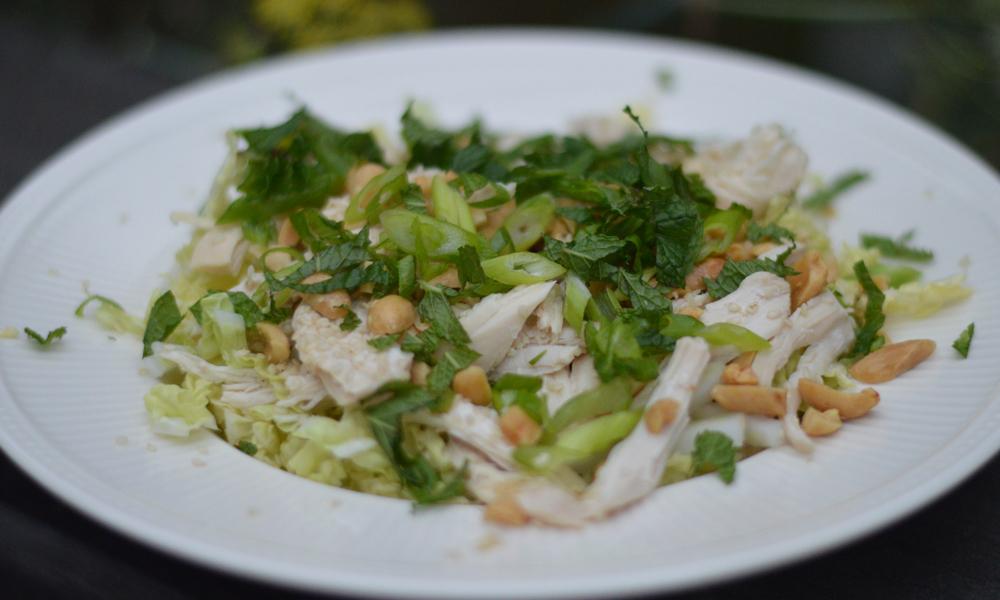 Asian Chicken Salad Done
