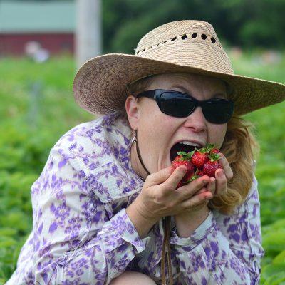 Local Strawberries Hadley, MA