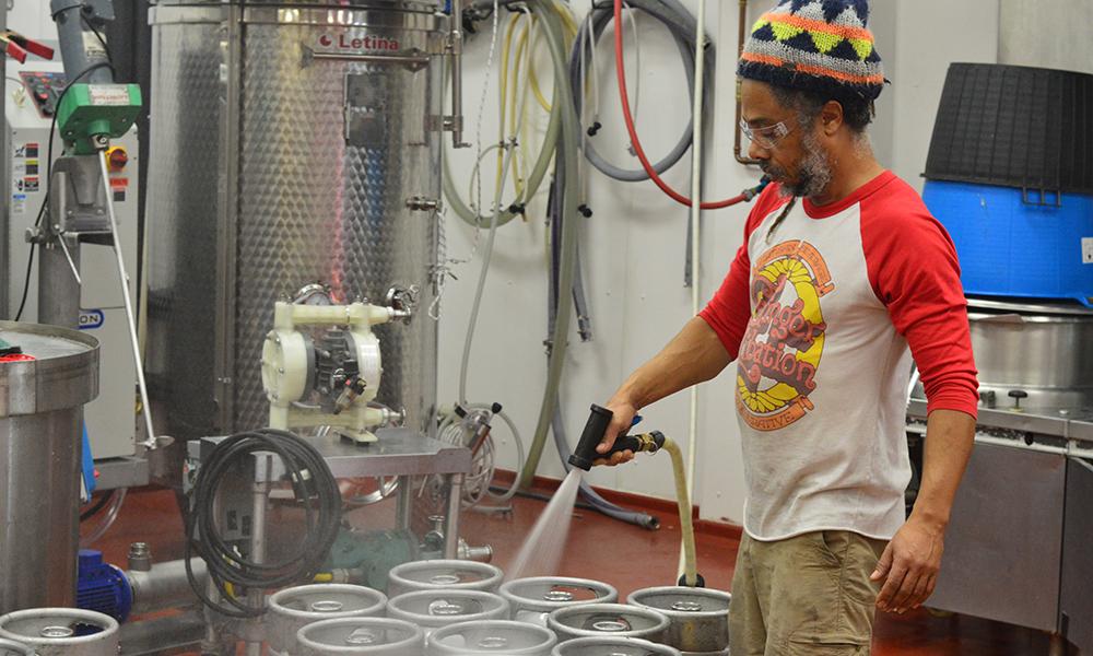 Artisan Beverage Cooperative kegs